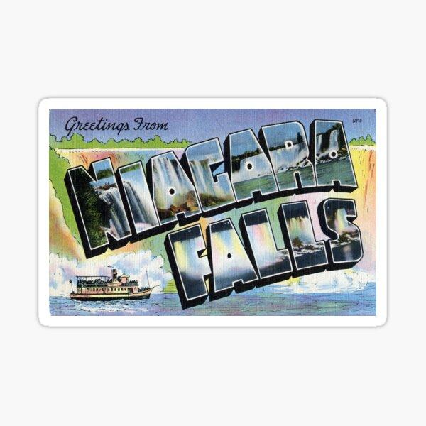 Niagra Falls Sticker