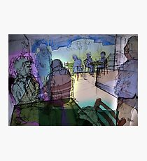 Summer cafe (With Energy and Auras) Photographic Print
