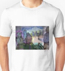 Summer cafe (With Energy and Auras) Unisex T-Shirt