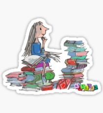 Matilda Wormwood Sticker