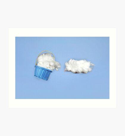 Der Wolkenharvester Kunstdruck