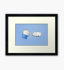 The cloud harvester Framed Print