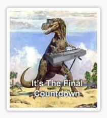 The Final Countdown Sticker