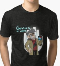 Ford-Genius at Work Tri-blend T-Shirt