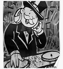 DJ Rich Uncle Pennybags Poster