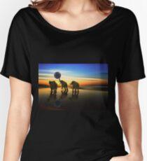 Jumbo Beach Ball Women's Relaxed Fit T-Shirt