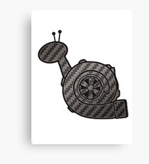 Carbon Fibre Turbo Snail Canvas Print