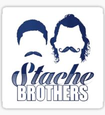 Stache Brothers Sticker