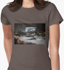 End of Fall waterfall photograph T-Shirt