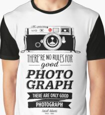 Rules Photography Graphic T-Shirt