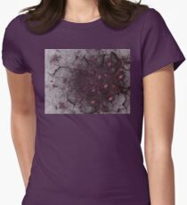 Mysterious and unusual texture with gentle mood-Gothic Womens Fitted T-Shirt