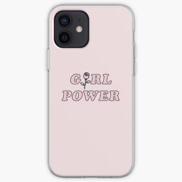 Pouvoir des filles Coque souple iPhone