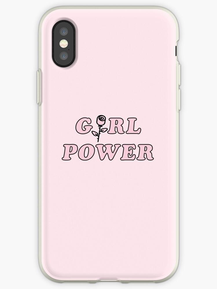 girl power iphone xs case