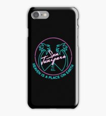 "San Junipero ""Heaven Is a Place on Earth"" iPhone Case/Skin"