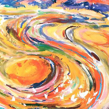 Free flowing colours of the outback by joycie