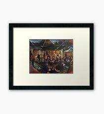 Urban Chiefs - Bird in Hand Inn Pitt Town Framed Print