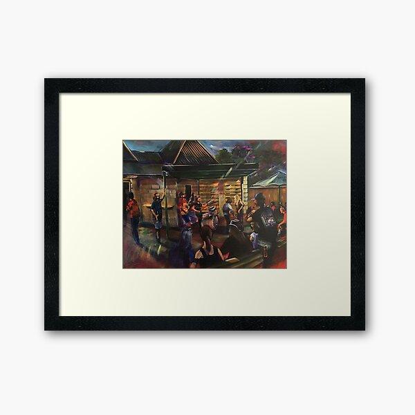 Urban Chiefs - Bird in Hand Inn Pitt Town Framed Art Print