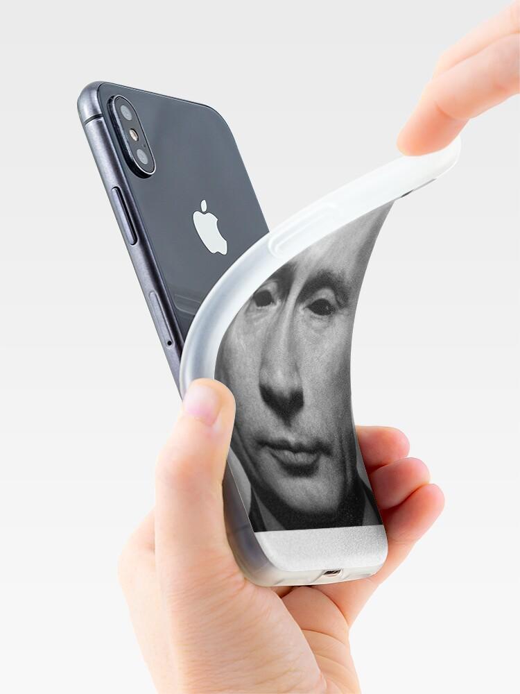 Alternate view of Satanic Putin iPhone Case