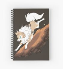 Sand Rush Spiral Notebook