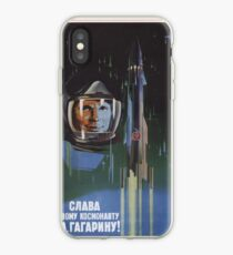 Glory to the First Cosmonaut! iPhone Case
