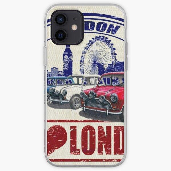 Love London Mini Cooper Coque souple iPhone