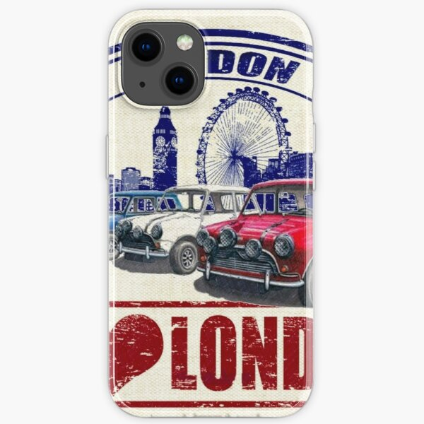 Liebe London Mini Cooper iPhone Flexible Hülle