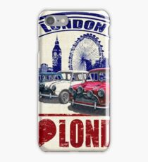 Love London Mini Cooper iPhone Case/Skin