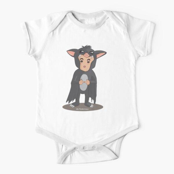 die Fledermaus Short Sleeve Baby One-Piece