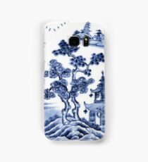 Chinese porcelain delft Samsung Galaxy Case/Skin