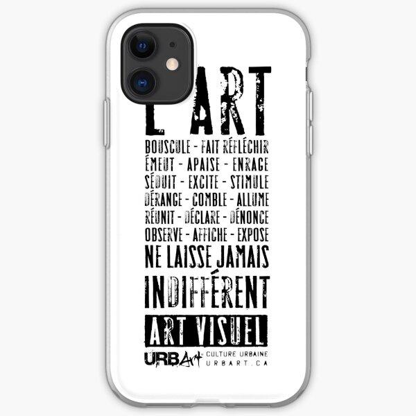 UrbArt® - Art visuel-01 Coque souple iPhone