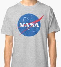 NASA Logo - Meatball - Vintage Distressed Classic T-Shirt