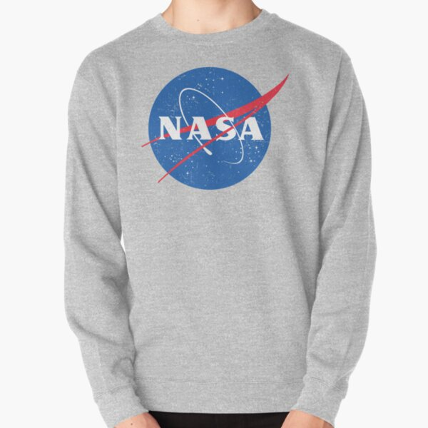 versión vintage del clásico logo de albóndigas de la NASA. Sudadera sin capucha