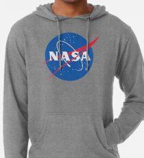 NASA Logo - Meatball - Vintage Distressed Lightweight Hoodie