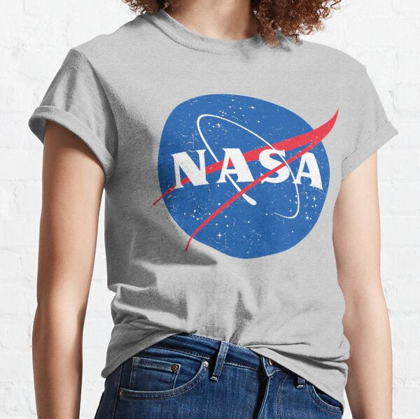 NASA Logo - Meatball - Vintage Distressed Classic T-Shirt