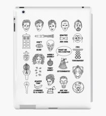 Doctor Who Collective Illustration iPad Case/Skin