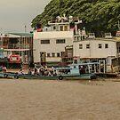 Harbour Scene by Werner Padarin
