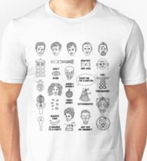 Doctor Who Collective Illustration Unisex T-Shirt