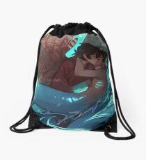 Kiss Kiss Drown at Sea Drawstring Bag