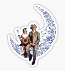 Paper Moon Sticker