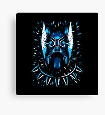 panther black Canvas Print