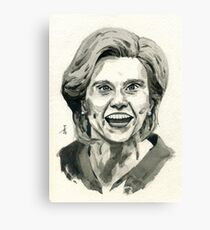 Kate McKinnon as SNL Hillary Clinton  Canvas Print