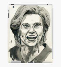 Kate McKinnon as SNL Hillary Clinton  iPad Case/Skin