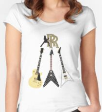 Randy Rhoads Collection Women's Fitted Scoop T-Shirt