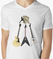 Camiseta para hombre de cuello en v Colección Randy Rhoads