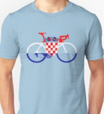 Bike Flag Croatia (Big) T-Shirt