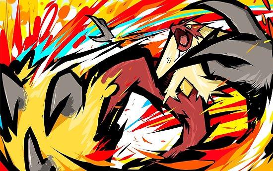 Blaziken | Blaze Kick by ishmam