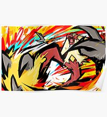 Blaziken | Blaze Kick Poster