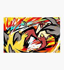 Blaziken | Blaze Kick Photographic Print
