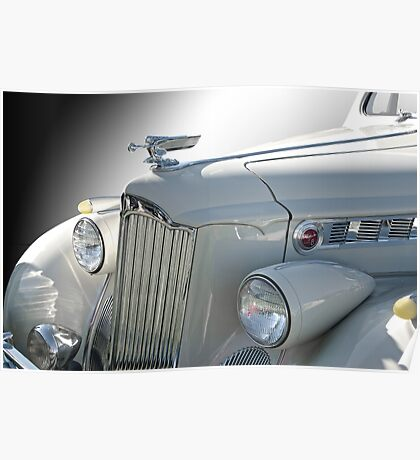 1940 Packard Super 8 160 Convertible Coupe Poster