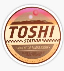 Toshi Station - Tatooine Sticker